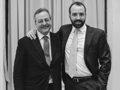 Massimo e Gabriele Ciaccio, titolari di BIG Broker Insurance Group