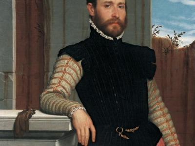 """Giovanni Battista Moroni, """"Portrait of Prospero Alessandri"""" (dettaglio), c. 1560, olio su tela, 105 x 83 cm. The Princely Collections, Vaduz-Vienna. Photo © Liechtenstein. The Princely Collections, Vaduz-Vienna"""