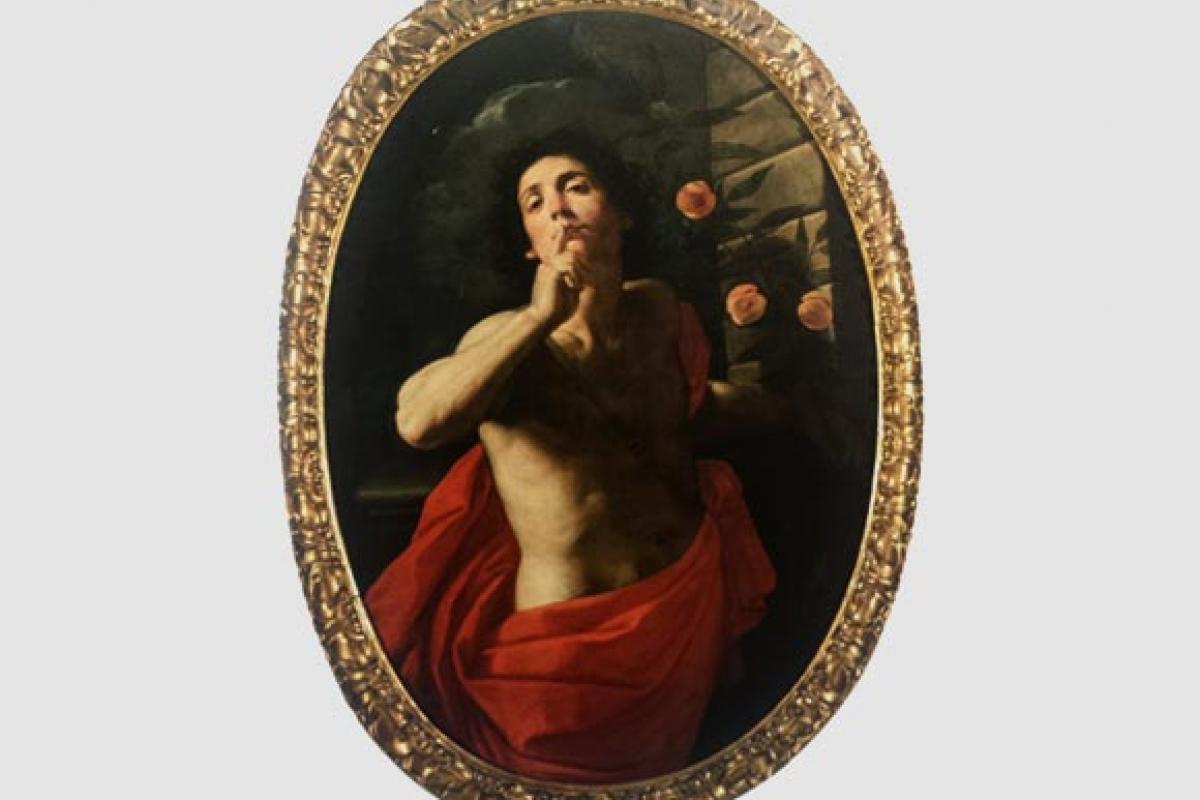 Figure del tempo barocco. Dipinti dell' Opera Pia dei Poveri Vergognosi.