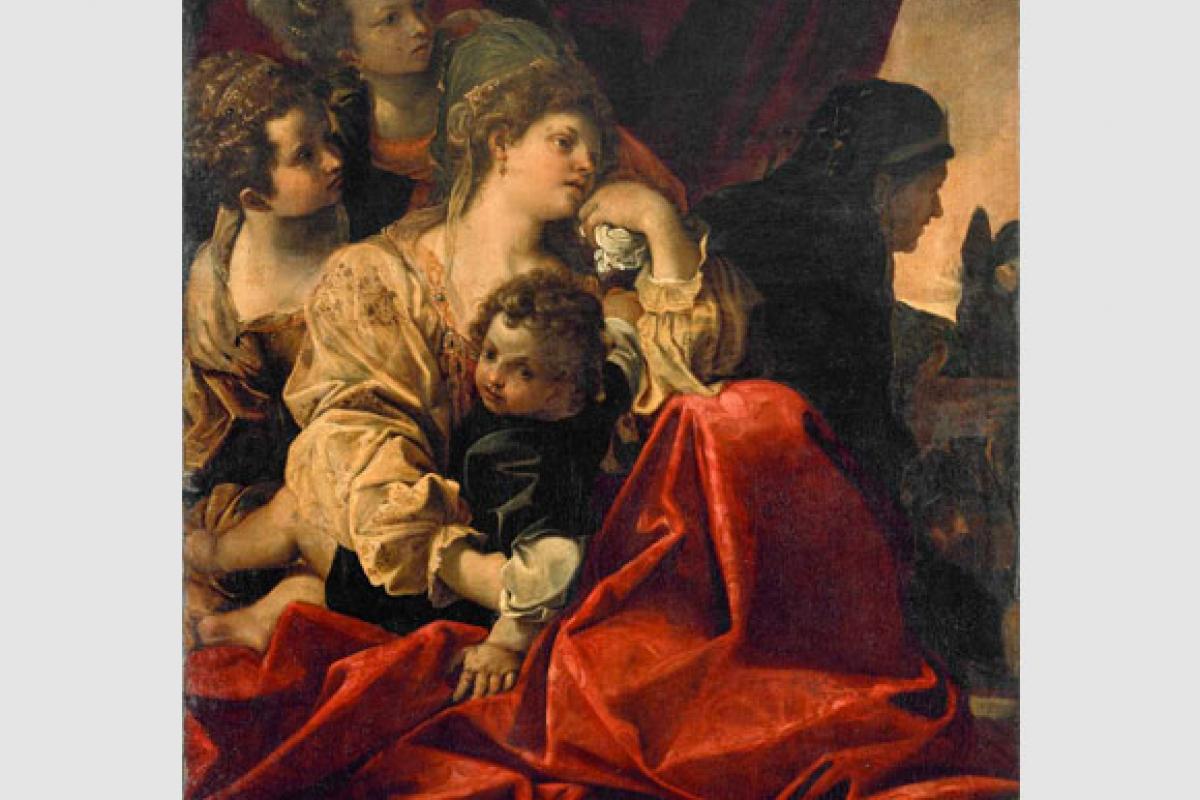 Ancora un dipinto Tanari: La Famiglia di Dario