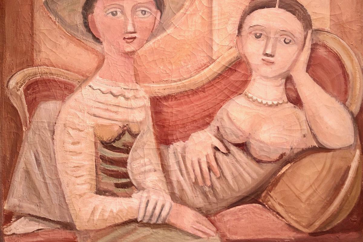 Le dame sul sofà