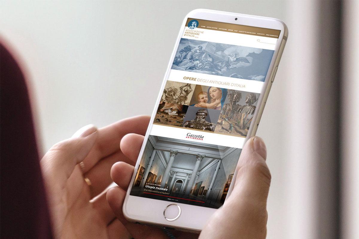 Il nuovo sito dell'Associazione Antiquari d'Italia
