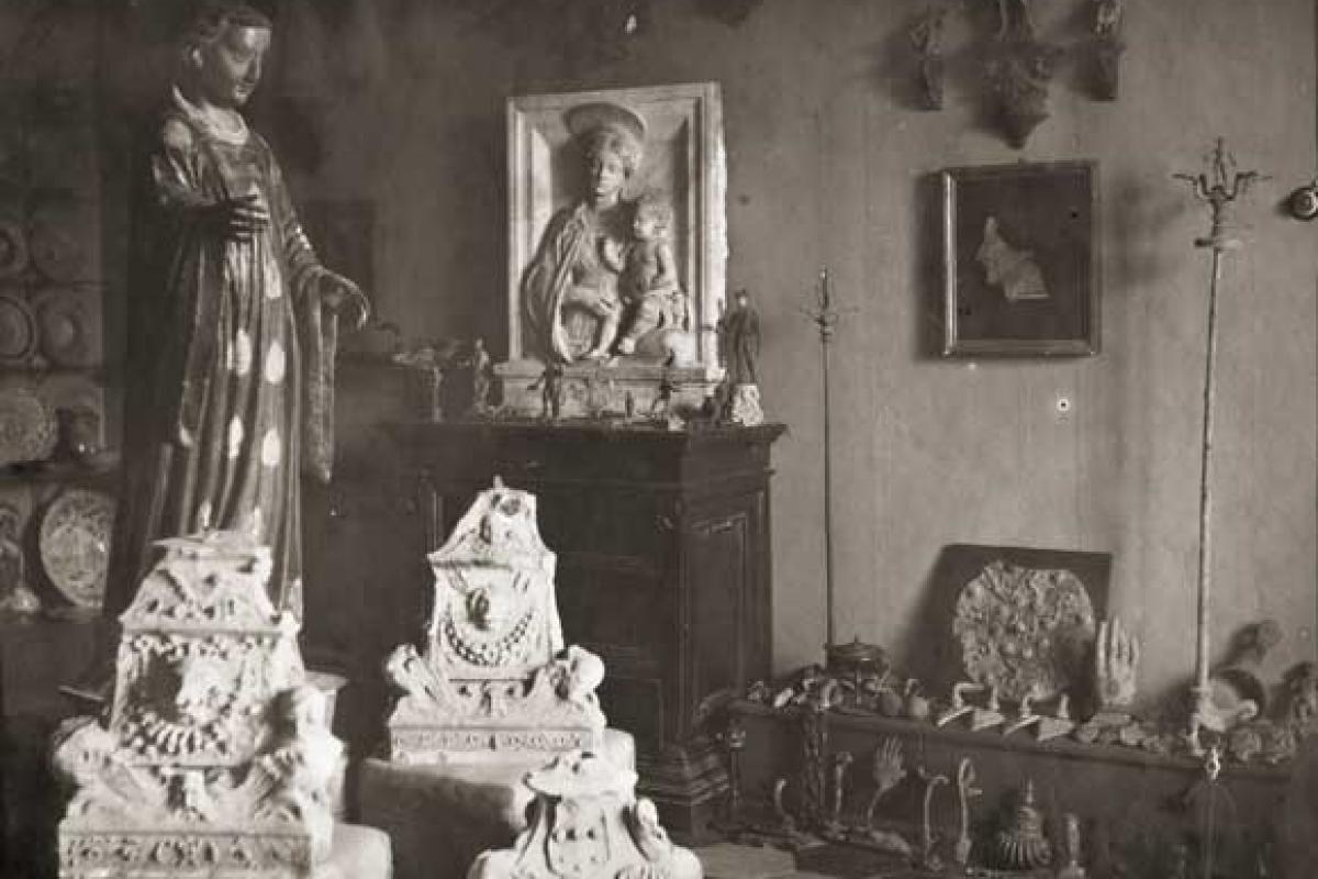 La vendita della collezione Ferroni nelle fotografie di Federico Zeri
