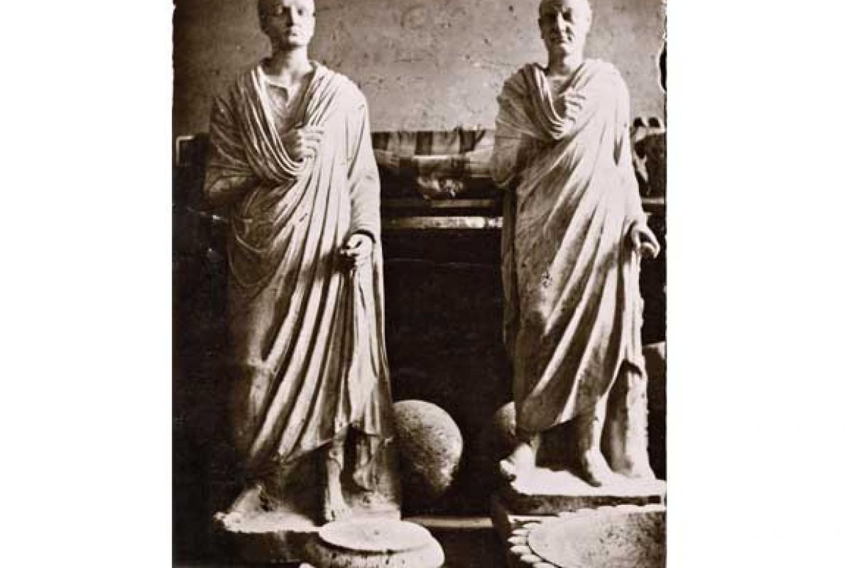 Fotografie di archeologia dal fondo Sangiorgi