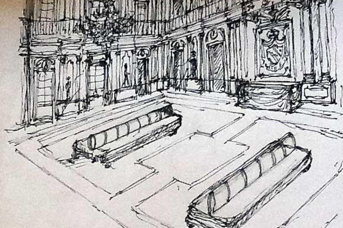 Pier Luigi Pizzi e la Biennale dell'Antiquariato